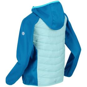 Regatta Kielder Hybrid IV Jacket Kids, cool aqua/blue aster